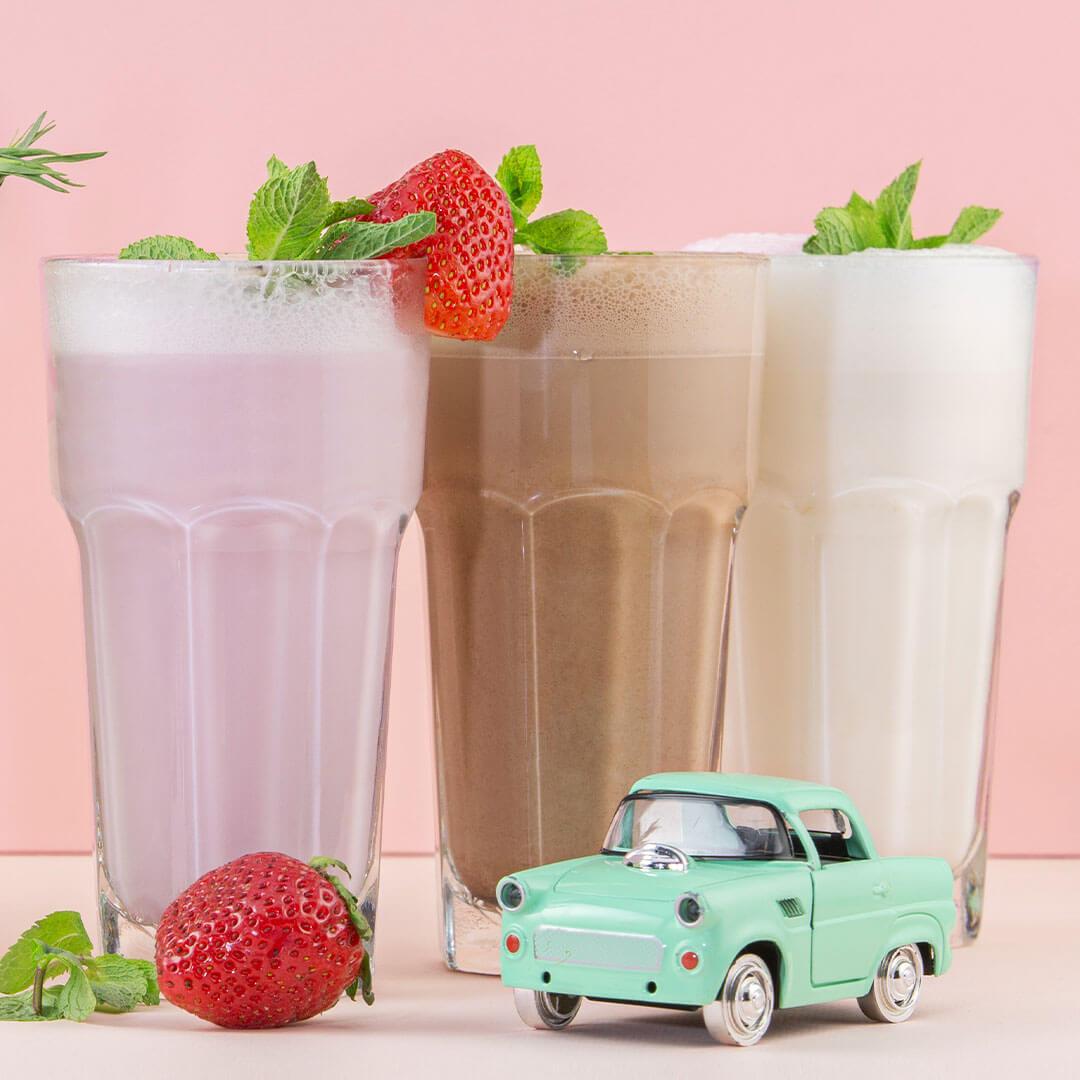 Молочный коктейль (ванильный)