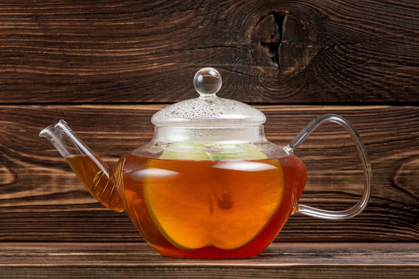 Яблочно-имбирный чай