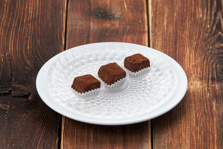 Шоколадные конфеты ручной работы с коньяком (за 1 шт)